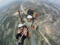 Vista a 360 ° dalle altezze