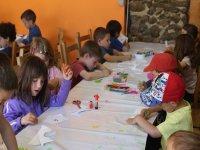 Actividades en el aula de la masia