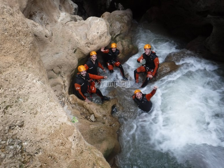 A day of canyoning in Teruel
