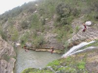 Intermediate Level Canyoning in Utrillas, Teruel
