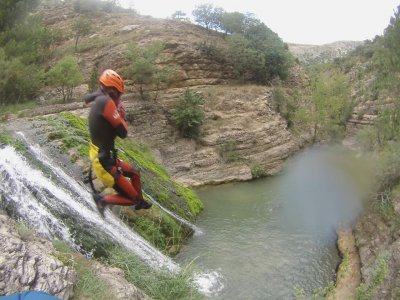 Canyoning Utrillas advanced level 6h