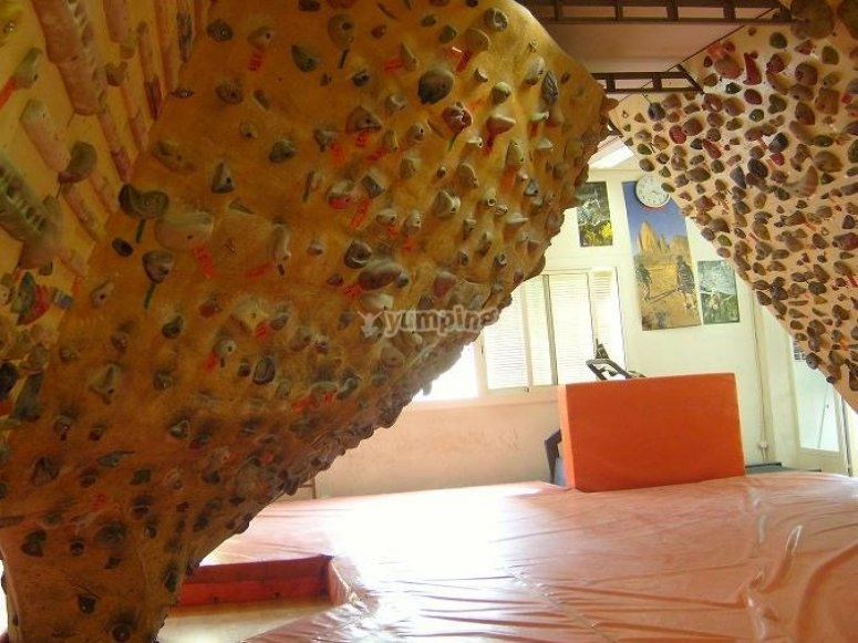 A day at the climbing wall