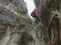 Canyoning in Utrillas (Teruel)