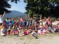 Grupo del campamento en Mas el Pla