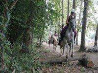 Saltando obstaculos naturales