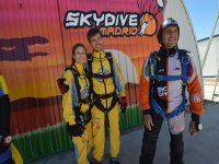 At the skydive centre