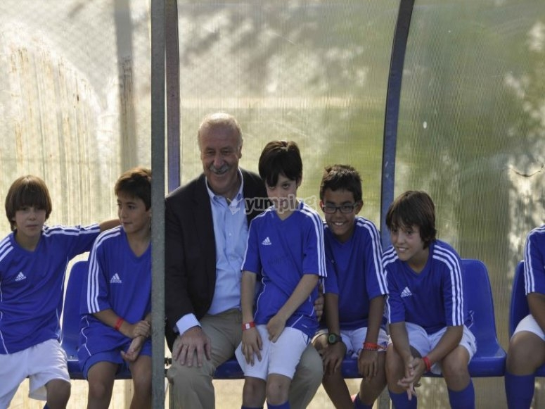 The best campus is the Vicente del Bosque´s