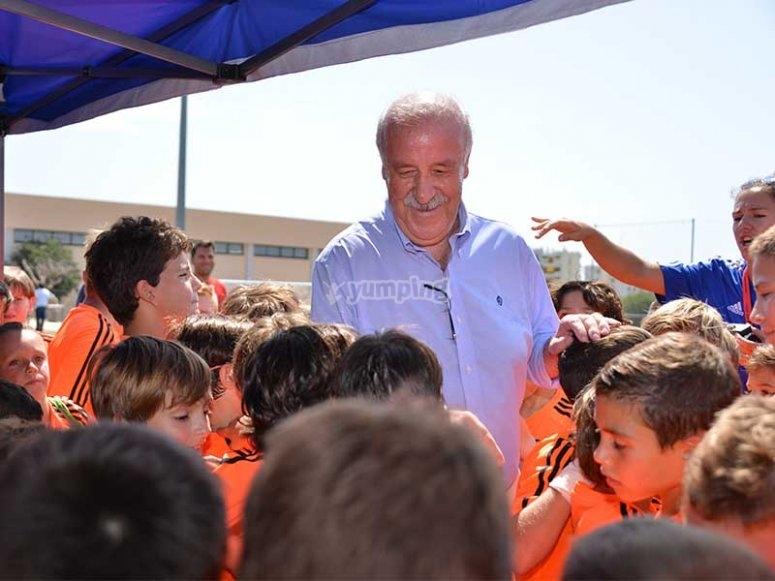 Vicente del Bosque访问