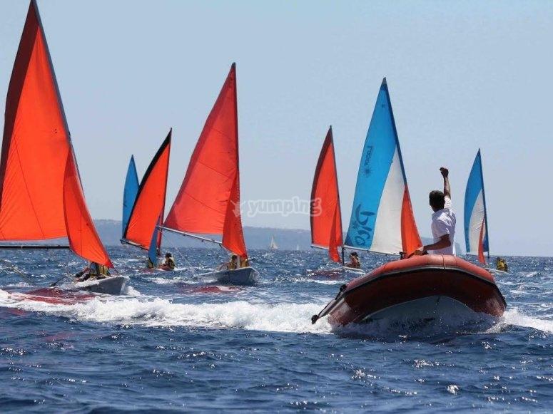 校园航海体育