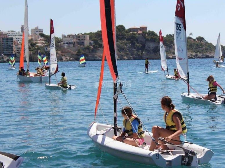 下午在马略卡岛的校园内--999-马略卡岛的风帆冲浪时间