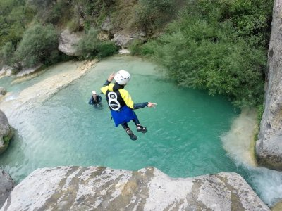 Canyoning in Organyà