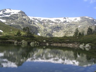 Trekking in the mountain of Guadarrama 5h