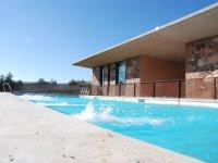 自行车和皮划艇设施,游泳池之前