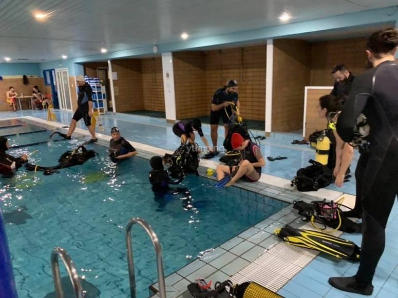 首次潜水的准备工作