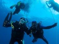 Bautismo de buceo en Cabo de Gata