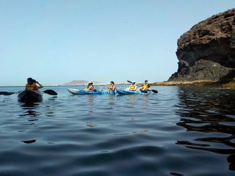 Kayak in acque calme
