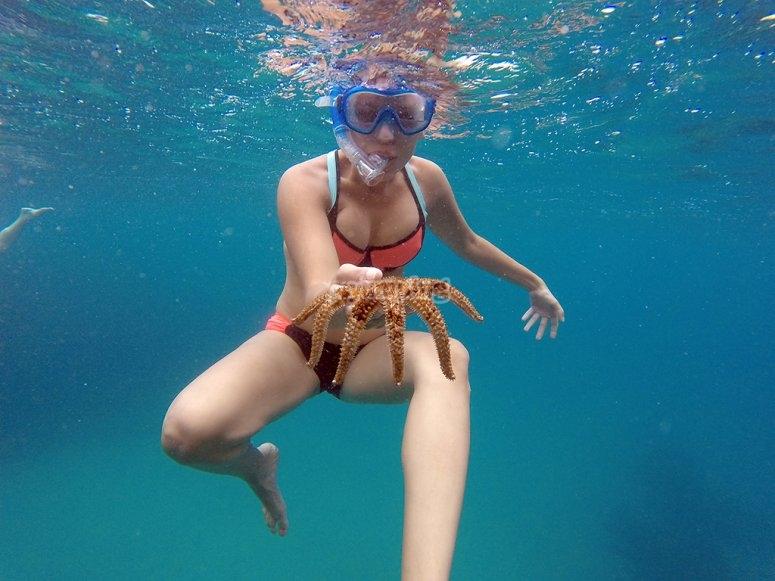 Kayak e snorkeling