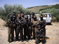 Paintball match with 100 pellets in Campo Real