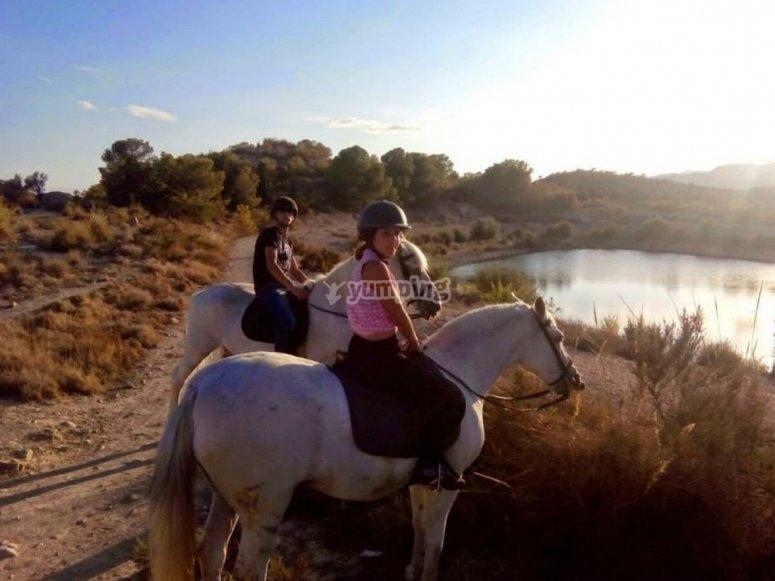 Excursión a caballo por Villajoyosa