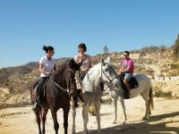 Preparados para la ruta a caballo en alicante