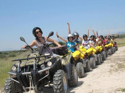 Quad trip and archery pack in Villajoyosa