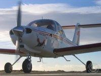 Light Aircraft Flight over San Juan Beach - 15'