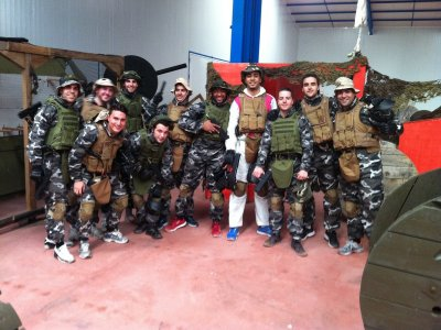 Paintball + Karting + Barbacoa cerca de Madrid