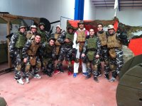 Paintball + Karting + Barbeque near Madrid