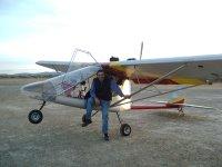 Ultralight flight Orellana Reservoir 30 minutes