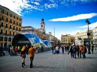 Sol en Madrid