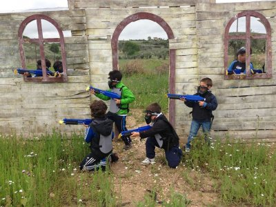 Paintball For Kids in El Espinar 100 Balls