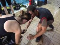 Scuba review SSI 2 sesiones Madrid
