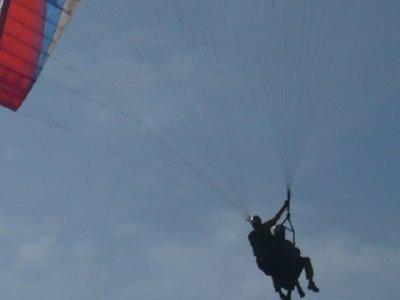 滑翔伞飞行,杂技,在Organyà