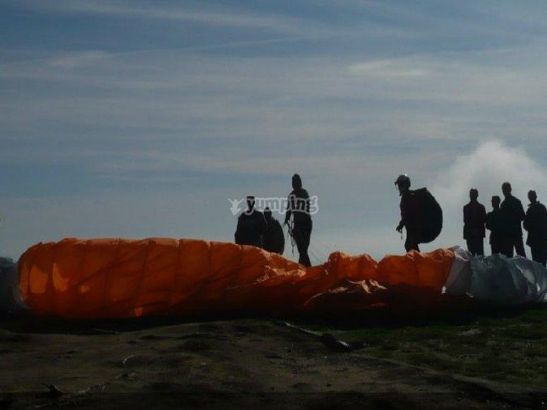 Paragliding in Lleida