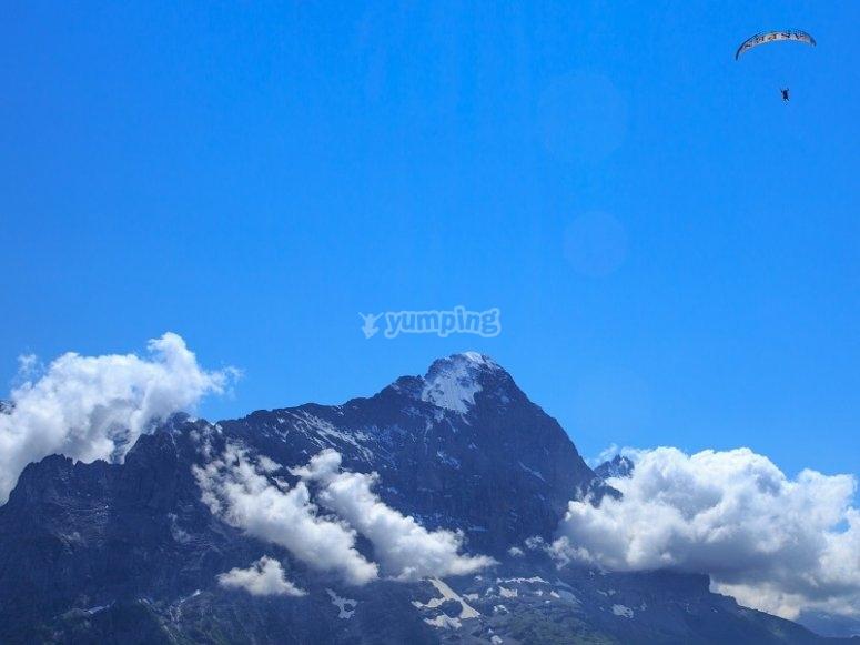 Volando por los cielos