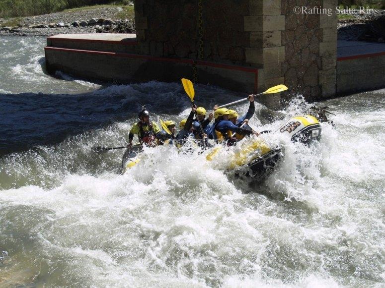 Rafting en el río Guadalfeo