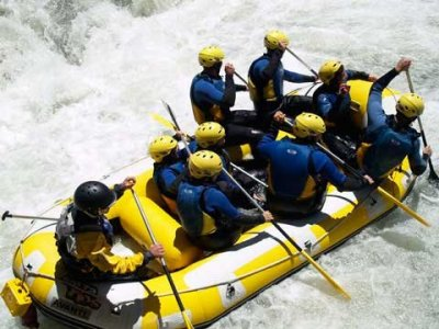 Rafting sul fiume Guadalfeo, Órgiva, per gruppi