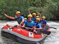 Rafting lungo il Genil 3 ore