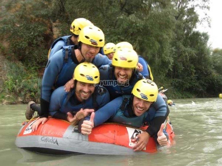 漂流在Genil河上