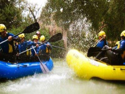 Descenso de rafting en el río Genil y alojamiento