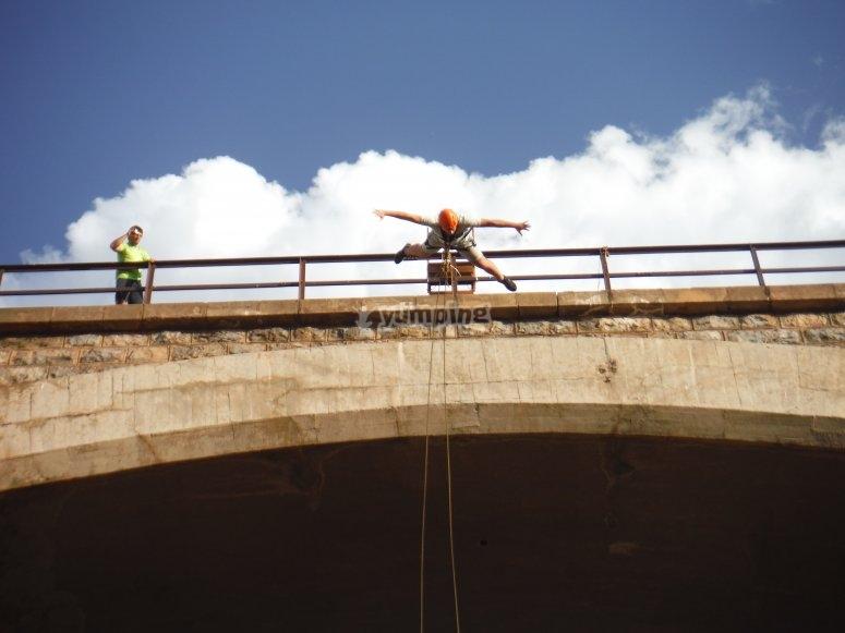 Tempo del salto dal ponte