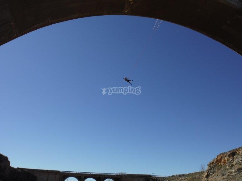 Bridge per saltare a Teruel