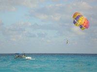 Practicar parascending en Mallorca