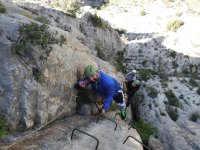 Via ferrata a Teruel