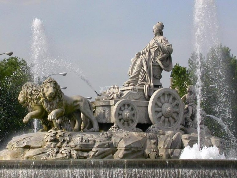 La estatua de Cibeles