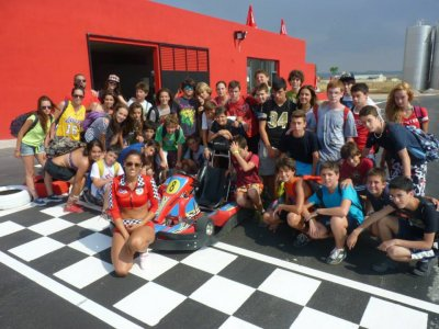 Campamento multiaventura 8 d�as, Albacete