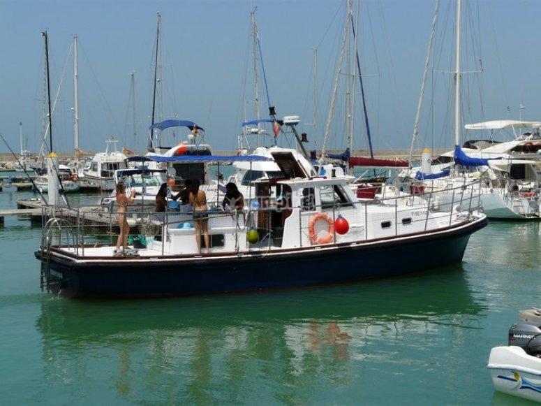 Barco en Cádiz