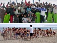 Programas deportivos en la playa
