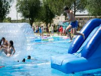 Activities and games in the pool
