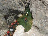 Ruta de trekking acuático en Utrillas, 3 horas